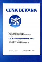 The Dean´s Award M Anderle